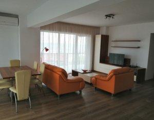 Inchiriere apartament 3 camere, modern, terasa 60mp, 2 garaje, Buna Ziua