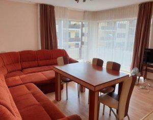 Inchiriere apartament 3 camere, mobilat si utilat, garaj, Buna Ziua