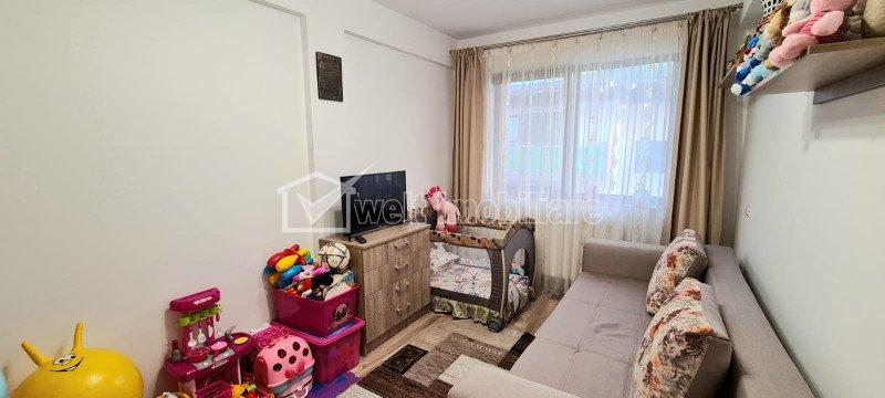 2 camere, 52 mp, balcon, etaj 3 din 3, Sud, parcare, Floresti, Poligon