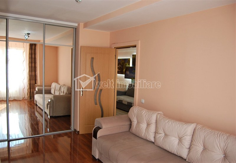 Apartament 2 camere, 45 mp, finisat modern, etaj 1 din 3, in Iris