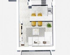 Apartament 1 camera 37,20 mp Bloc Nou, Leroy Merlin, Marasti