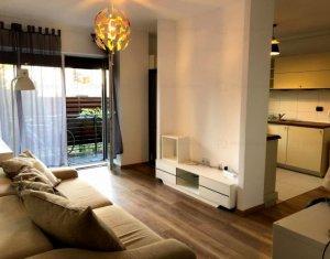 Apartament 2 camere cu gradina, parcare, Bonjour Residence, Buna Ziua