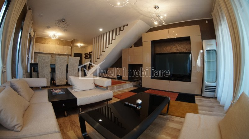 Duplex modern 4 camere, pe Eugen Ionesco, spre Faget