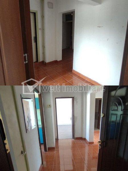 OPORTUNITATE! Apartament cu 3 camere, 2 bai, balcon in zona strazii Plopilor
