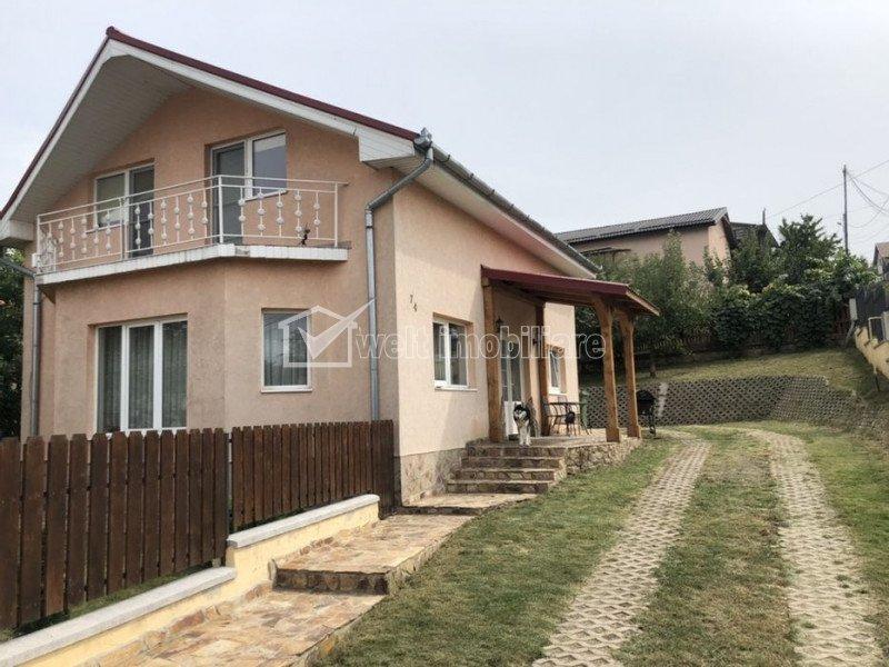 Inchiriere casa individuala 4 camere, 140 mp, teren 500 mp, Sannicoara