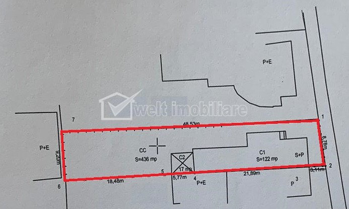 Land for sale in Cluj-napoca, zone Gheorgheni