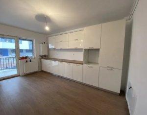 Apartament 3 camere decomandat, cu 2 balcoane, 58 mp, parter, Baciu