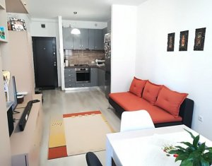 Apartament cu 2 camere, bloc nou, mobilat, utilat, garaj, zona Iris