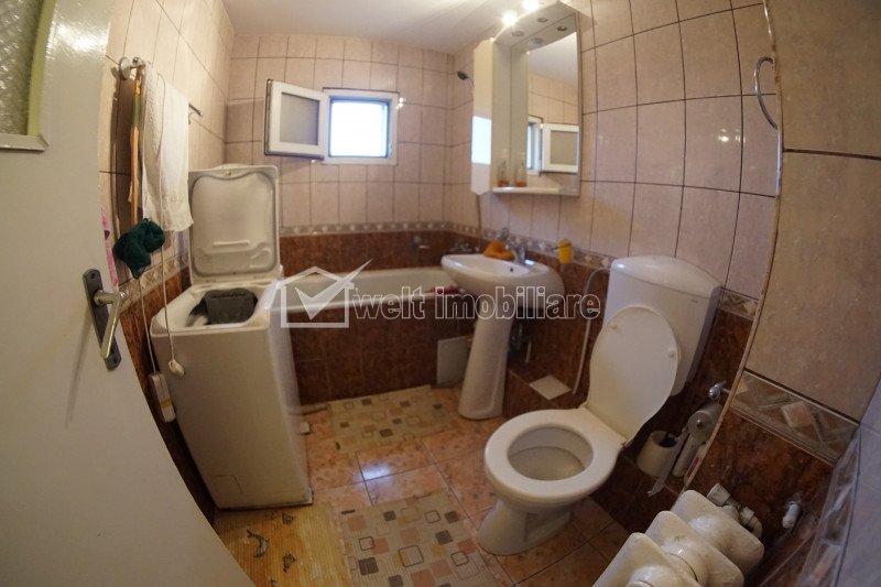 Apartament 3 camere, decomandat, Manastur