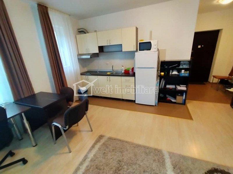 Inchiriere apartament 1 camera, 33 de mp, mobilat si utilat, zona Hasdeu