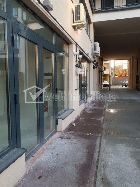 Spatiu comercial open space 75mp, zona str Paris - Colegiul de Muzica