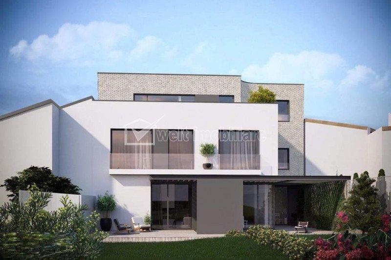 Casa tip duplex, 225 mp utili, 405 mp teren, Andrei Muresanu