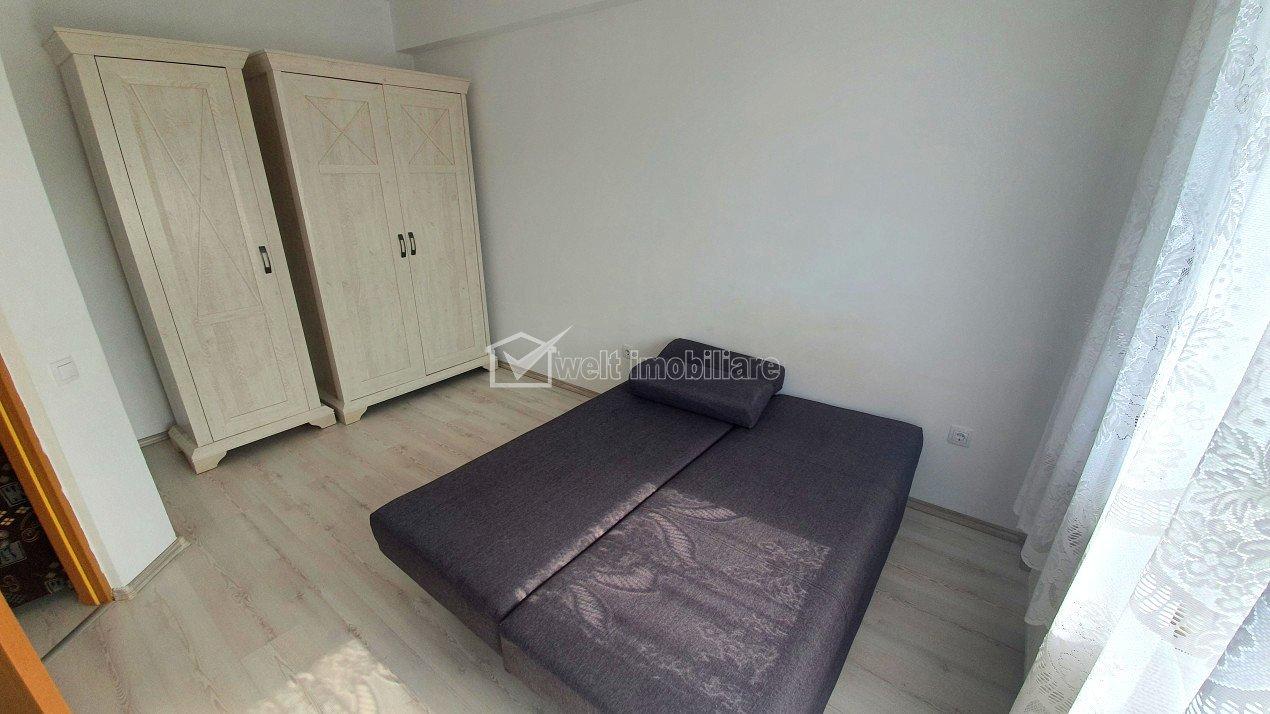 Apartament cu  doua camere, living cu bucatarie, prima inchiriere, Urusagului