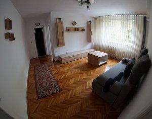 Inchiriere 2 camere Gheorgheni, finisat recent, bloc izolat, etaj 2