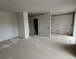 Apartament cu o camera, semifinisat, 52 mp, cu CF, zona BMW
