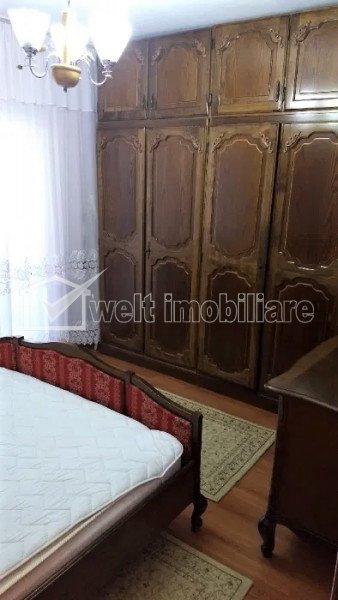 Apartament 3 camere, decomandat, etaj 3, 2 bai, 2 balcoane, Manastur