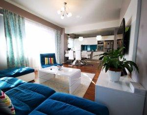 Apartament 4 camere, 95 mp, etaj 1, 2 balcoane, parcare, garaj, boxa, Buna Ziua