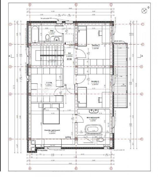 Casa la proiect de vanzare Faget, zona Dianei