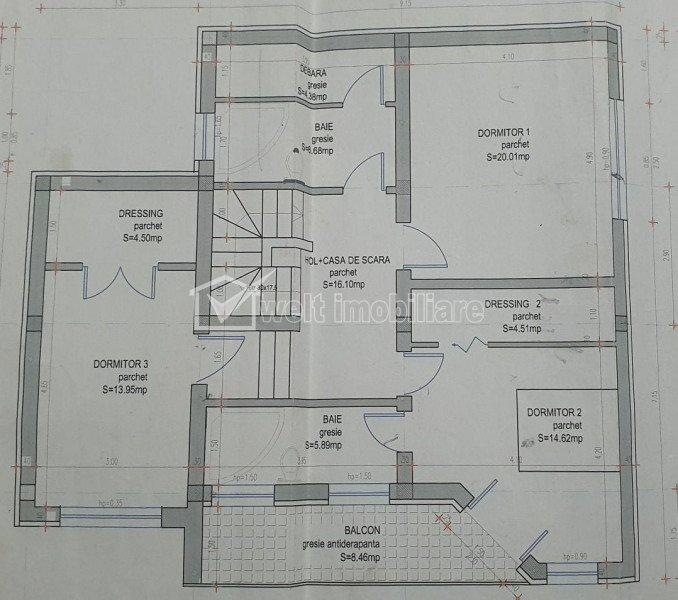 Casa 3 dormitoare, 184mp utili, 471 mp teren, Jucu de Mijloc, liniste, spatiu