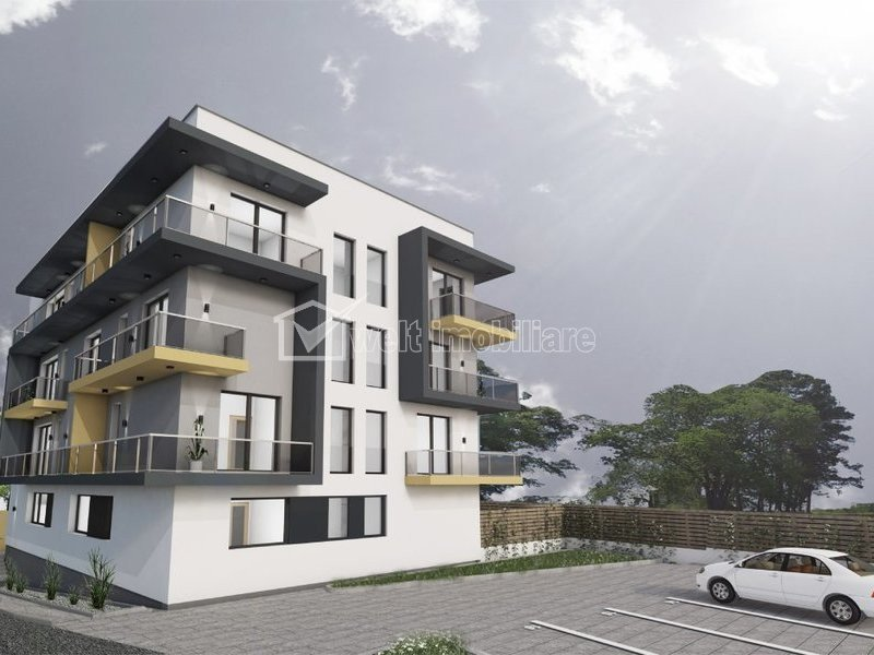 Apartament 3 camere, SU totala 91 mp, Buna Ziua, terasa, imobil nou, 2020