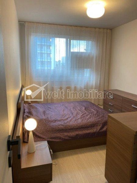 Inchiriere apartament 2 camere, 51 mp, decomandat, parcare, zona Central
