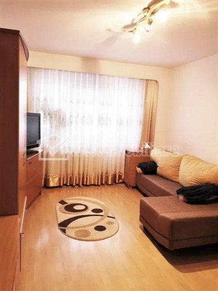 Apartament 3 camere, parter inalt, balcon, Manastur, zona Ion Mester