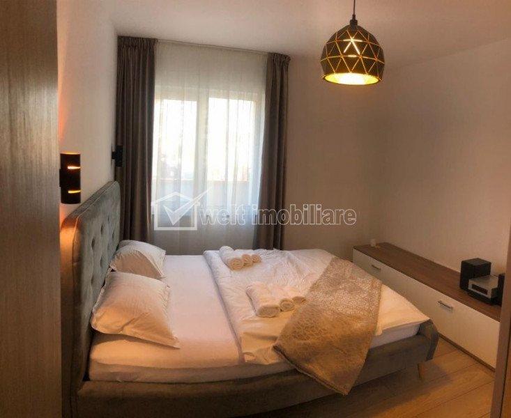 Inchiriere apartament 3 camere, terasa, parcare, zona Buna Ziua