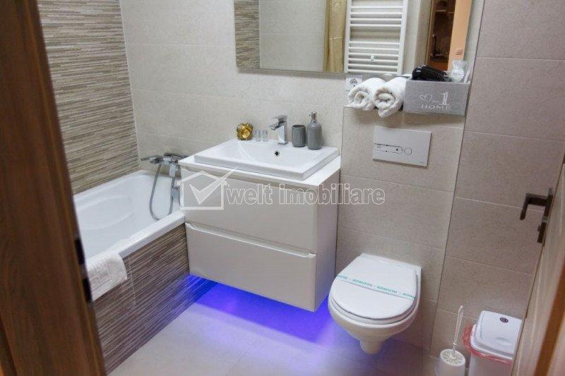 Apartament cu 1 camera, 40 mp, Zona Andrei Muresanu,cu balcon, mobilat LUX