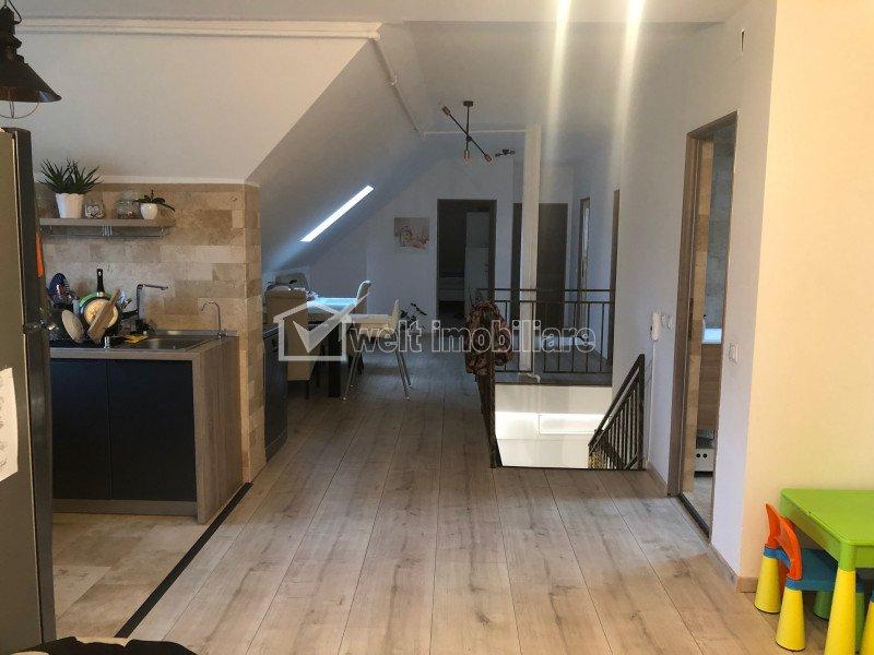 Apartament 4 camere, 118 mp, mobilat, zona Tautiului