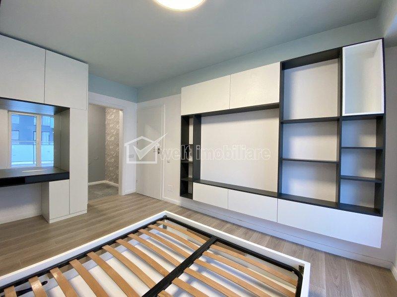 Apartament exclusivist cu 3 camere, lux, zona centrala, terasa 55 mp, garaj