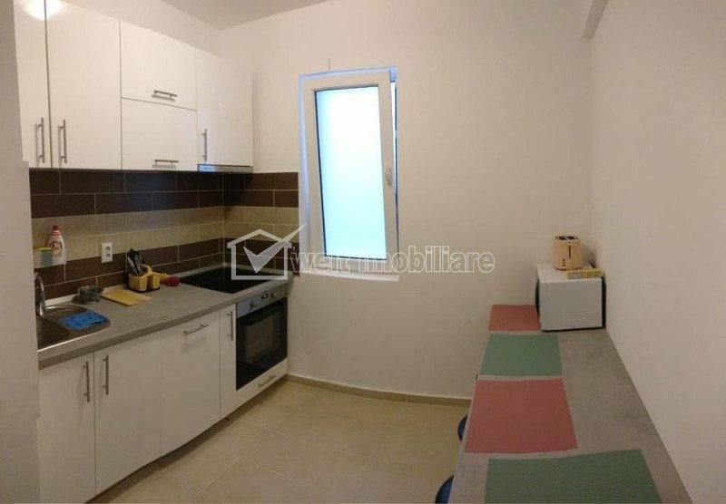 Apartament cu 3 camere, 55 mp, zona Iris, mobilat modern, cu loc de parcare