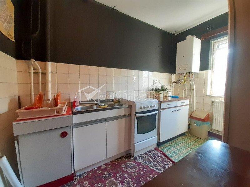 Apartament cu 2 camere, semidecomandat, zona Kaufland Marasti