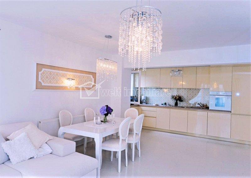 Apartament cu 3 camere, spatios, ultrafinisat, elegant, in Buna Ziua