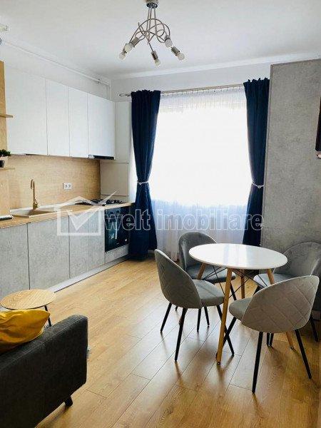Apartament cu 1 camera, 43 mp, zona Gruia, mobilat modern