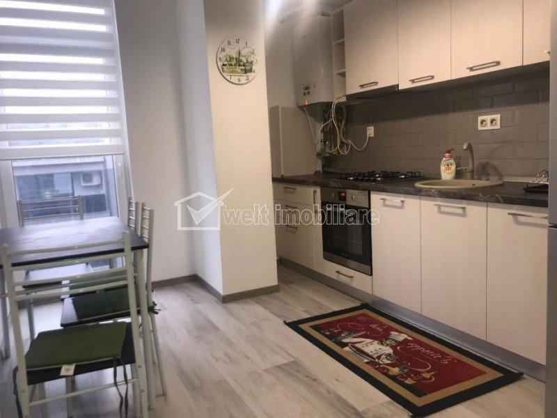 Apartament de inchiriat cu 2 camere, 60 mp, zona Gheorgheni, mobilat modern