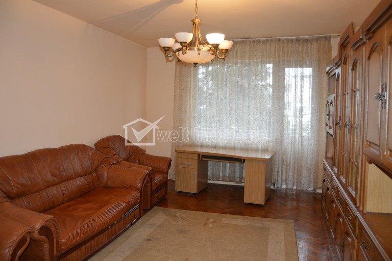 Inchiriere apartrtament spatios cu 2 camere, 72 mp, in zona Centrala