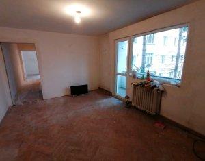 Apartament cu 3 camere, semifinisat,garaj,boxa, Manastur