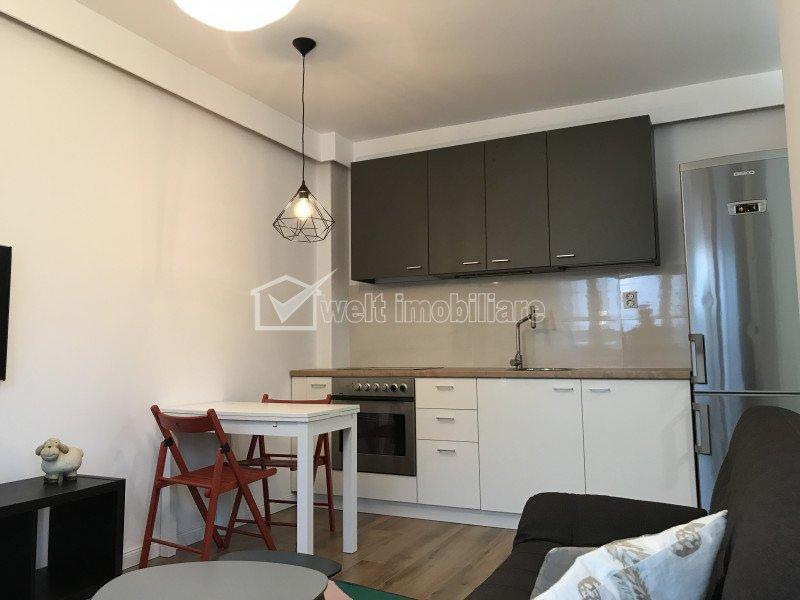 Apartament cu 2 camere, semidecomandat, modern, Borhanci