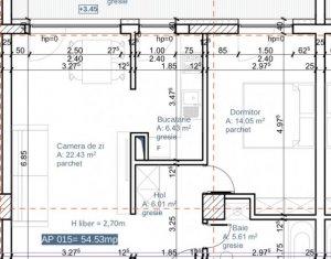 Bloc NOU Apartament 2 camere 55 mp + 12 mp terasa, Plopilor