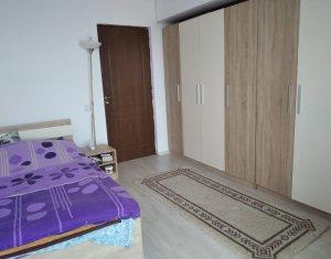 Apartament 3 camere, 60 mp, mobilat, strada Florilor