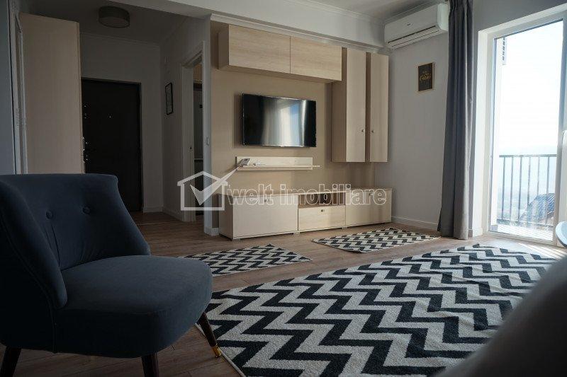 Apartament cu 2 camere, 55 mp, pe Eugen Ionesco cu loc de parcare