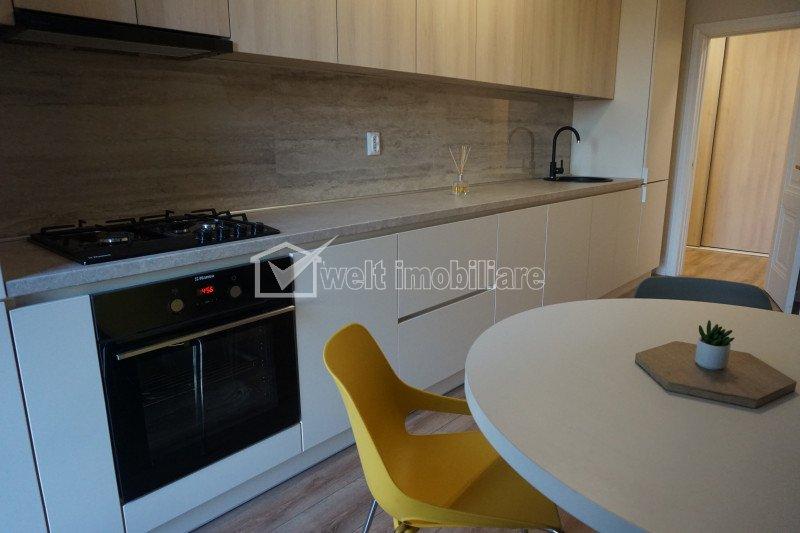 Apartament cu 2 camere, 65mp, zona Andrei Muresanu, cu parcare subterana, LUX