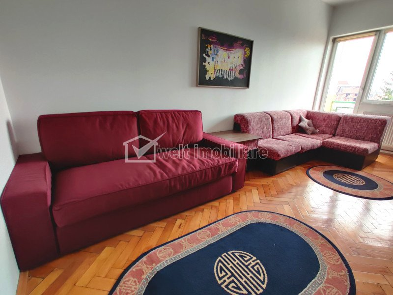 Apartament 1 camera, Horea, Balcon