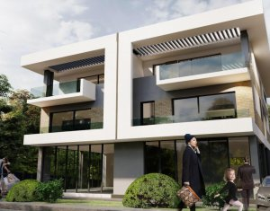 Apartament in bloc tip vila, 91mp + 19mp balcoane, Gheorgheni, zona Iulius Mall