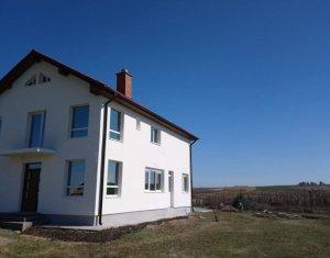Casa 228 mp utili, 5 dormitoare, 880 mp teren, Jucu de Sus, aer curat, liniste