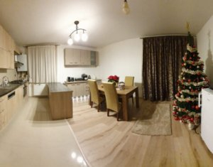 Apartament cu 3 camere, mobilat+parcare, zona Vivo