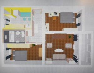 Apartament 3 camere decomandat situat cartierul Gheorgheni, strada Rebreanu