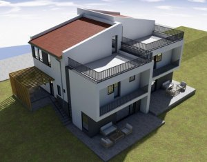 Casa tip Duplex 120 mp, panorama superba, Borhanci