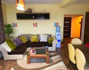 Apartament 2 camere, 60 mp, etaj 2 din 3, balcon, parcare, Vest, Baciu