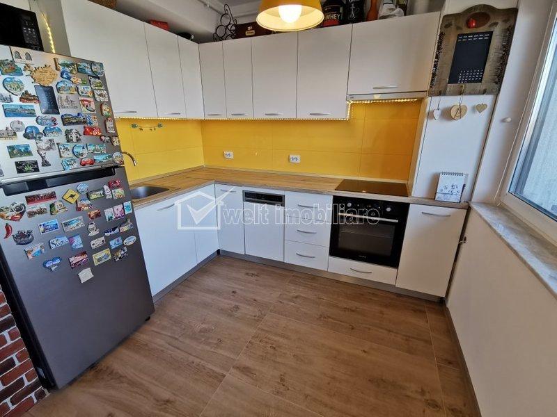 Apartament 2 camere, finisat si utilat LUX, Intre Lacuri